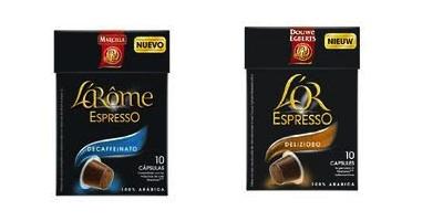 l' or l 'arome espresso
