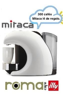 Mitaca i4 gratis  a cambio de la compra de café.