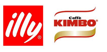 logo illy + logo kimbo