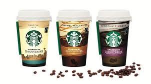 Los nuevos vasos decae frio Starbucks