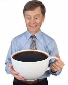 consumo de café en el trabajo.