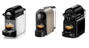 La Pixie, la U, la Inisia, no compatibles con nespresso
